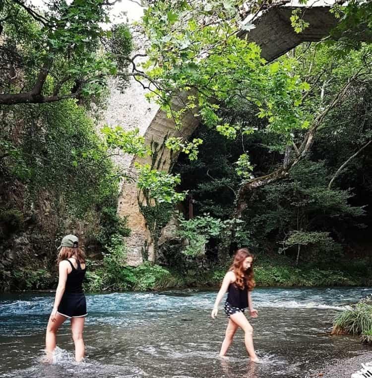 נהר הלוסיוס - ארקדיה - פלופונז - יוון עם ילדים - בלוג הטיולים של כנרת צור - כנרת מטיילת