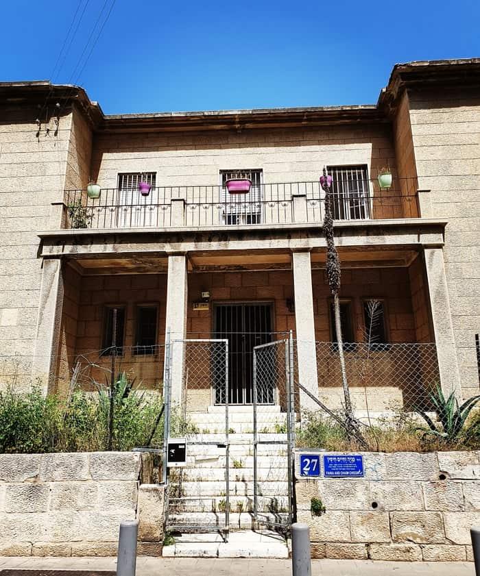 הבית בקחוב חיסין - כנרת מטיילת - לטייל בתל אביב - תל אביב אהובתי