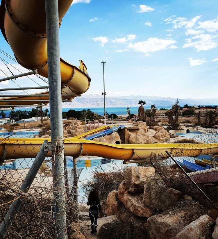 פארק המים הנטוש קליה - כנרת מטיילת - בלוג הטיולים של כנרת צור - מבנים נטושים - טיול קצר שבת