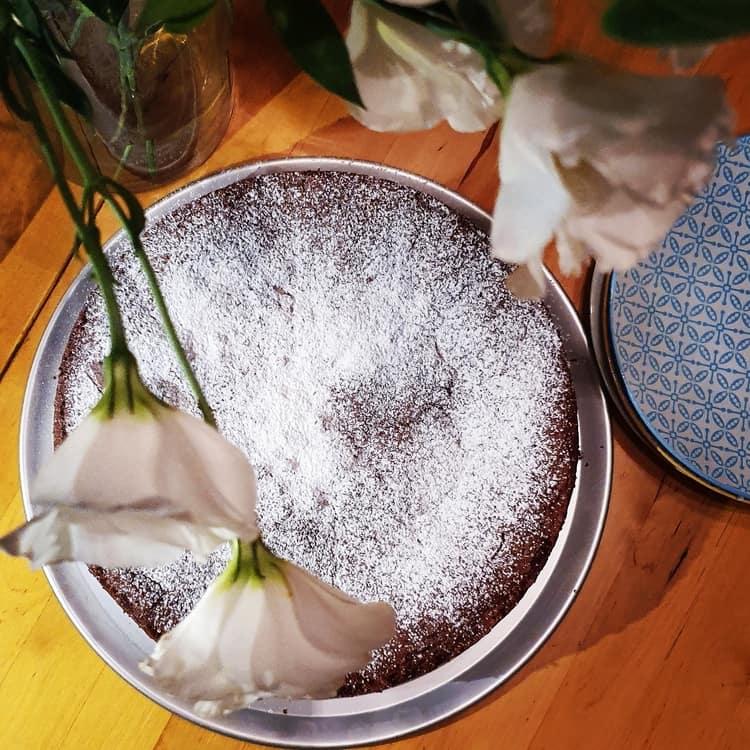 כנרת מטיילת - עוגת שוקולד - ללא גלוטן - טורטה קפרזה