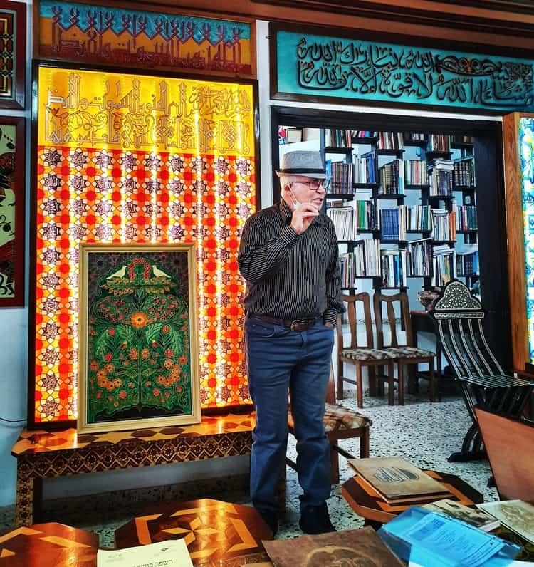 מוחמד סעיד כלש - כפר קרע - טיול בואדי ערה - כנרת מטיילת