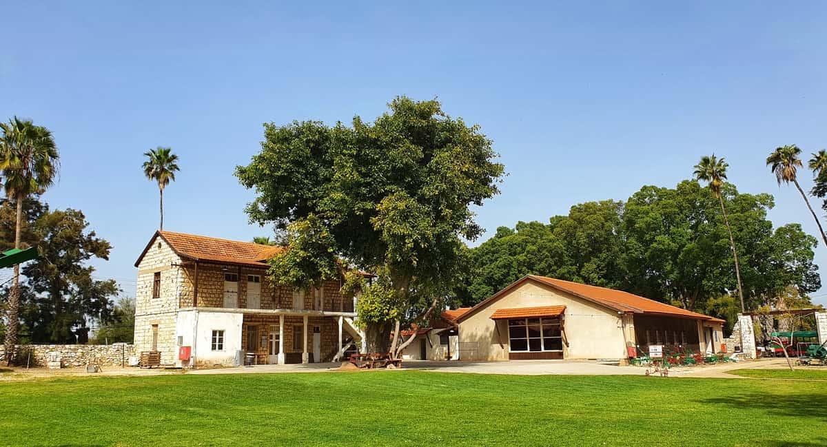 מוזיאון חצר ראשונים - עין שמר - אזור מנשה- כנרת מטיילת - טיול במרכז הארץ