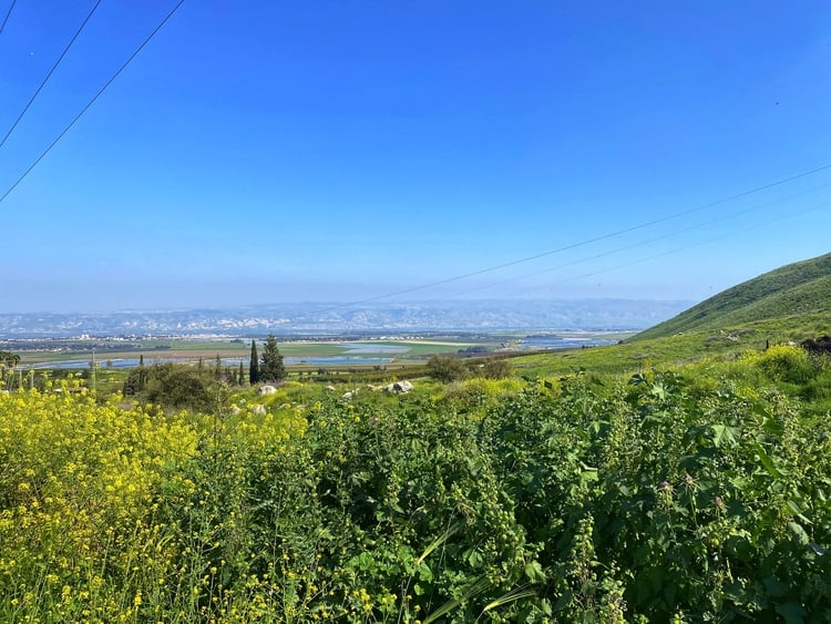 נחל יצפור - הר הגלבוע - כנרת מטיילת