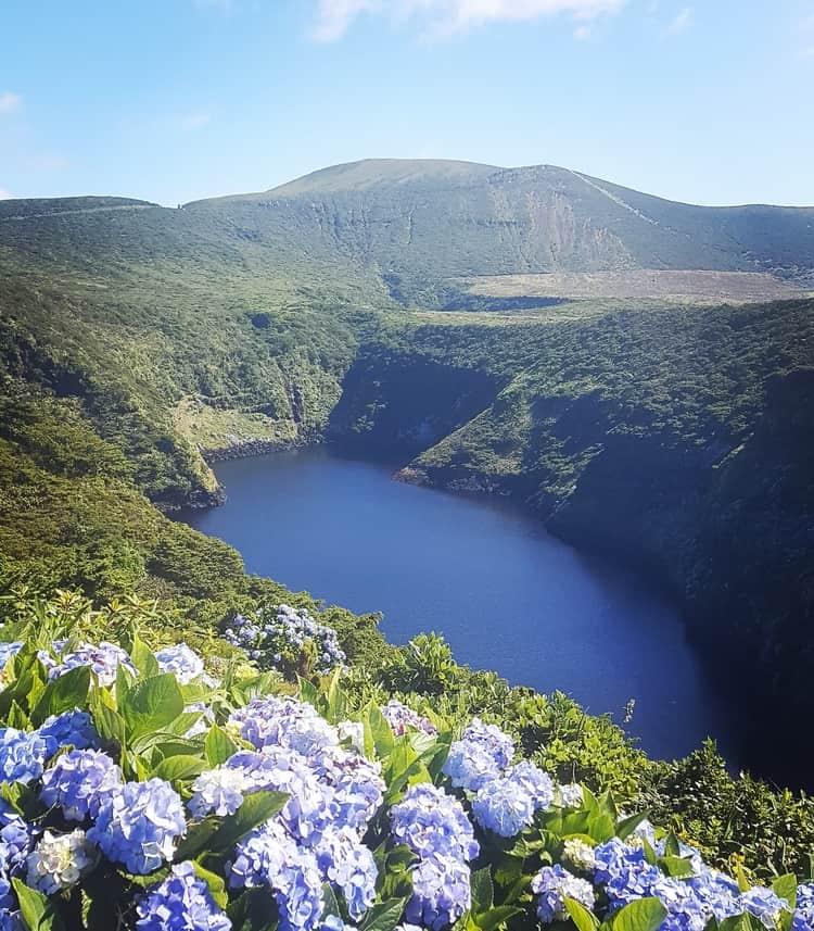 Miradouro das Lagoas - flores island azores