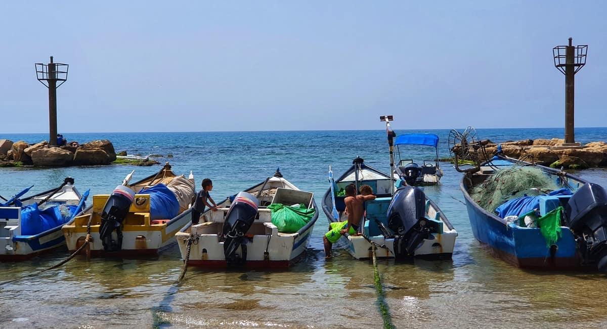 ג'סר א זרקא - טיול במרכז הארץ - החוף הכי יפה בארץ - כפר דייגים