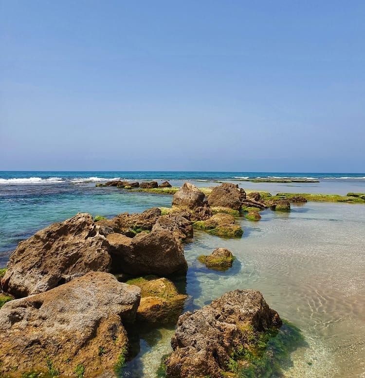 ג'אסר א זרקא - טיול במרכז הארץ - חוף הים הכי יפה בארץ - דייגים