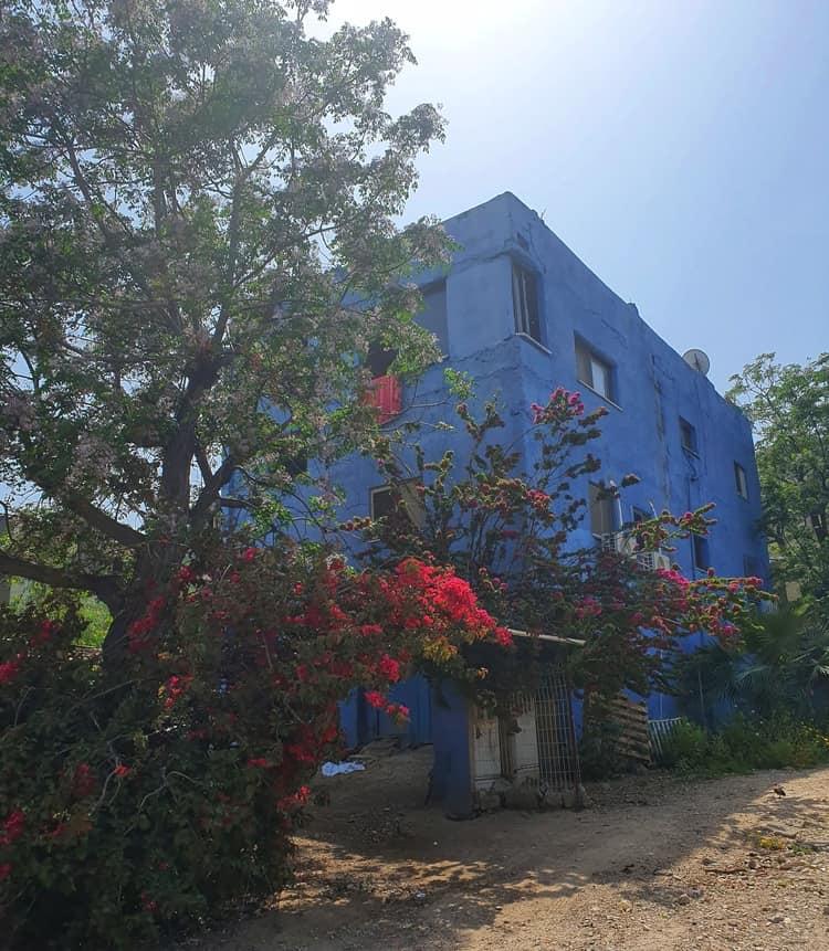 Jisr az-Zarqa - ג'סר א זרקא - טיול במרכז הארץ - הבתים הכחולים של ג'סר