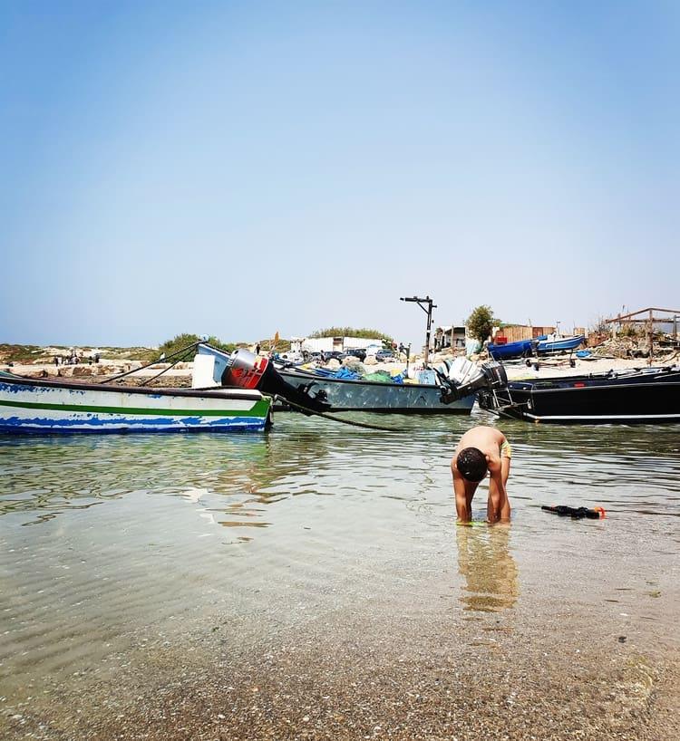Jisr az-Zarqa - ג'סר א זרקא - כפר הדייגים ג'סר א זרקא - טיול בשבת עם ילדים