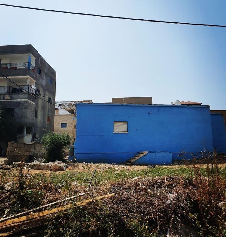 ג'אסר א-זרקא - טיול בשבת - הבתים הכחולים