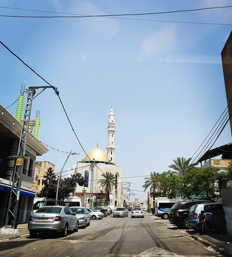 ג'סר א זרקא - מסגד - טיול במרכז הארץ