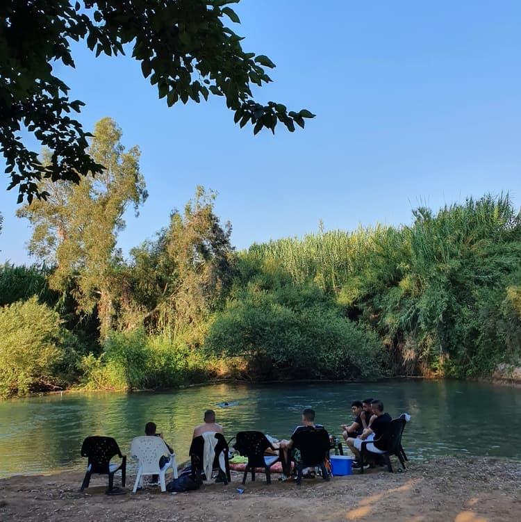 בית הלל - החצבני - חוף ישראלי בבית הלל - טיול מים בצפון