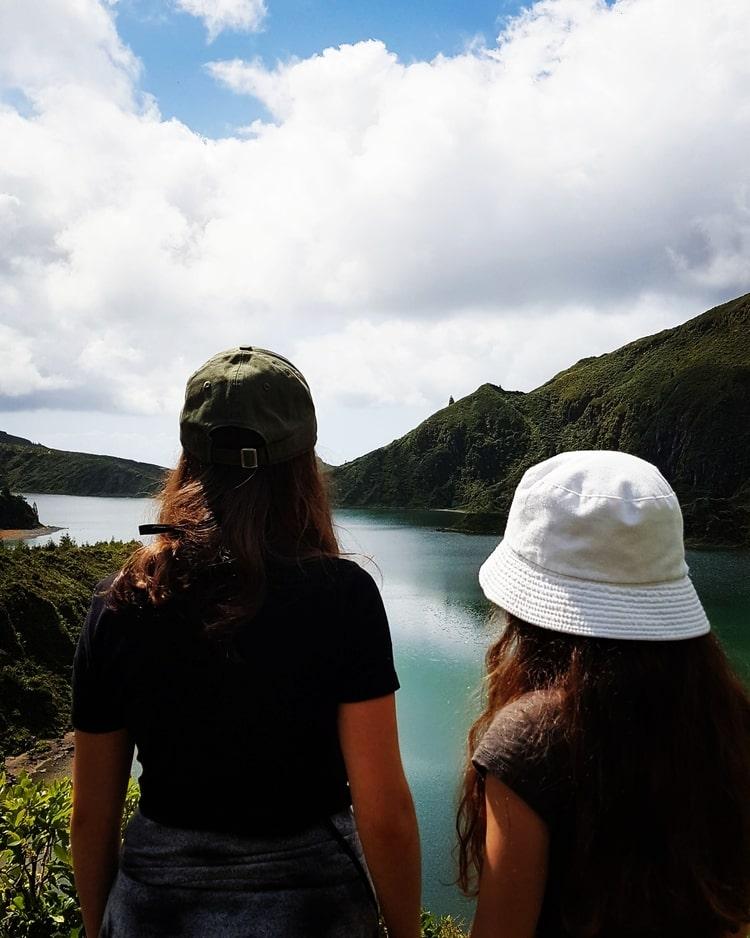 sao miguel azores islands - אגם פוגו
