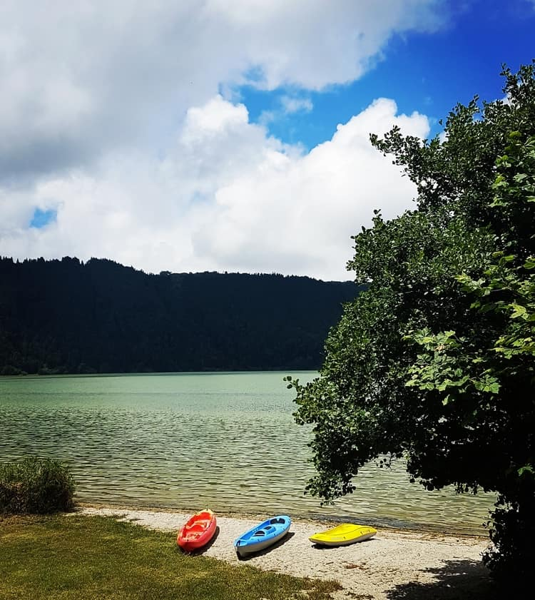 סאו מיגל - האיים האזוריים - אגם פורנאש